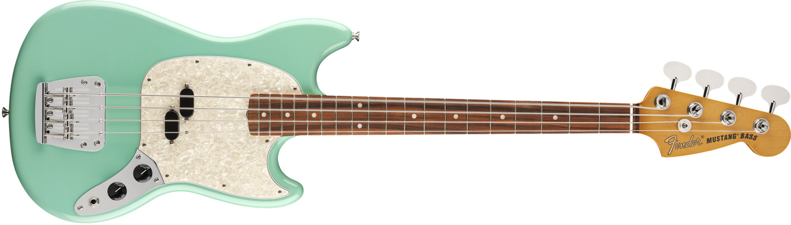Fender Vintera 60s Mustang Bass Seaform Green
