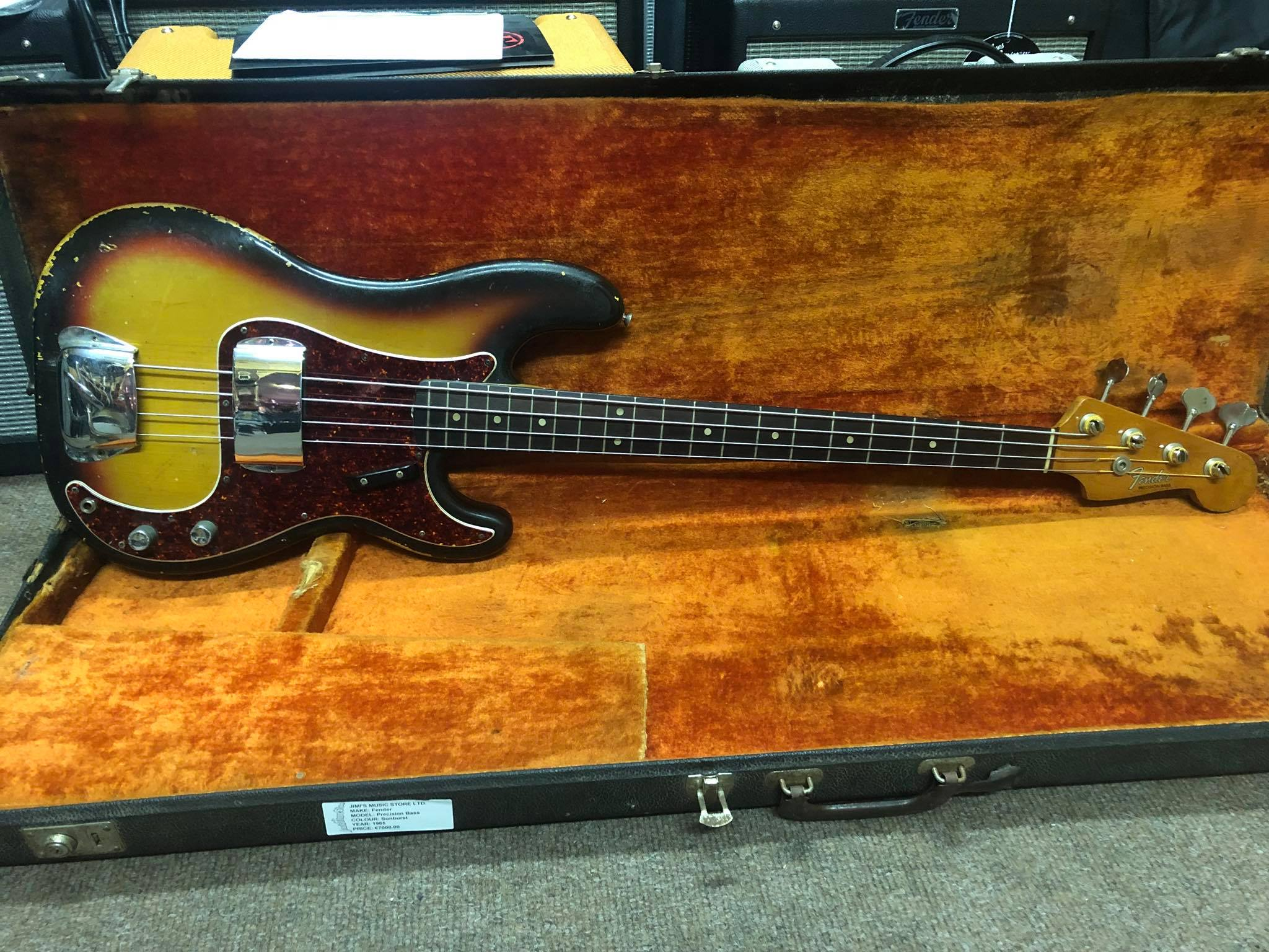 1965 Fender Precision Bass