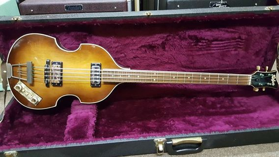 1965 Hofner 500/1 Violin Bass