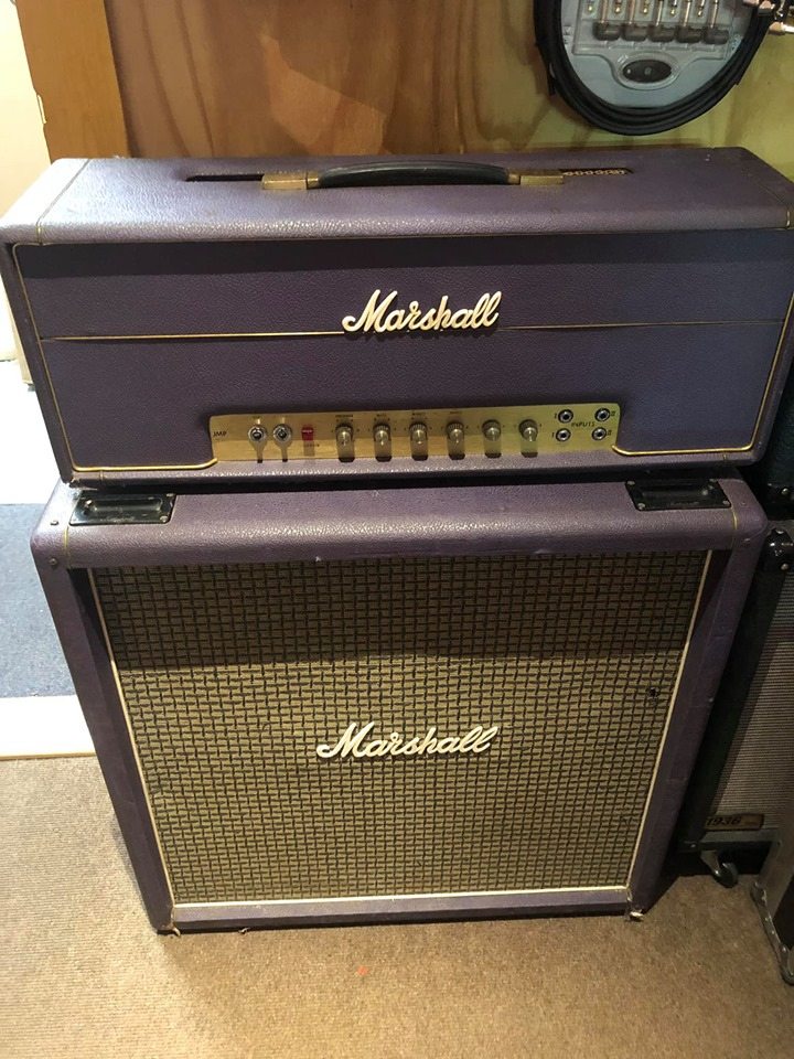 1972 Marshall Super Lead 100w and matching cab
