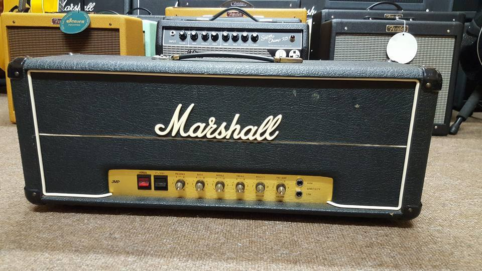 1977 Marshall JMP50 Master Model 50 Watt Mk2 Head