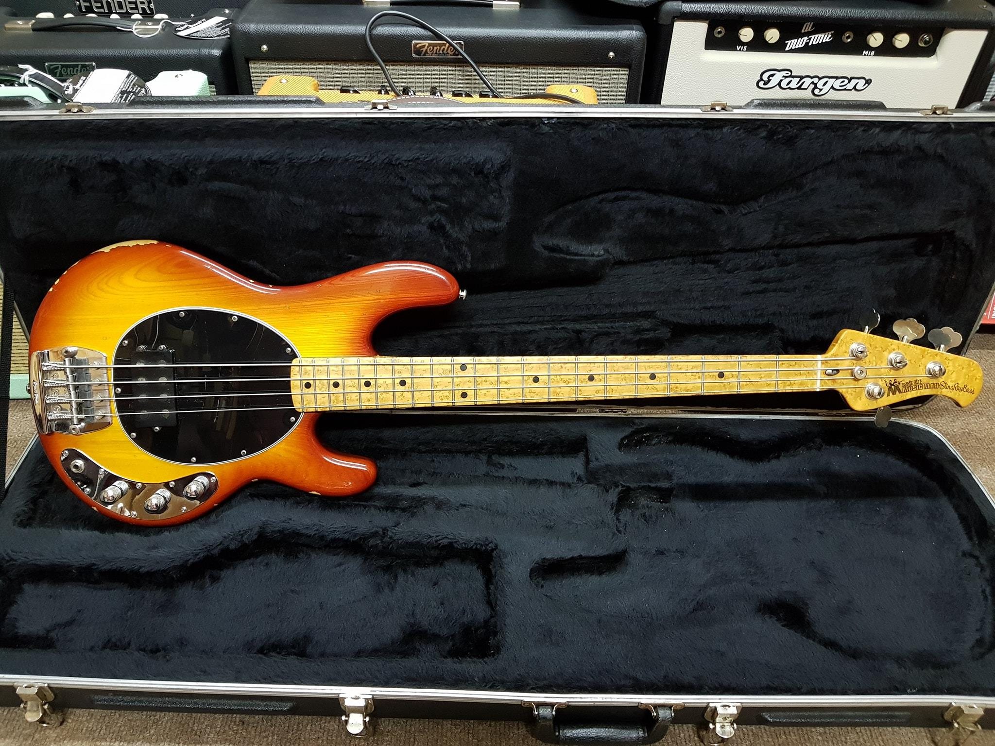 1987 Music Man StingRay Bass