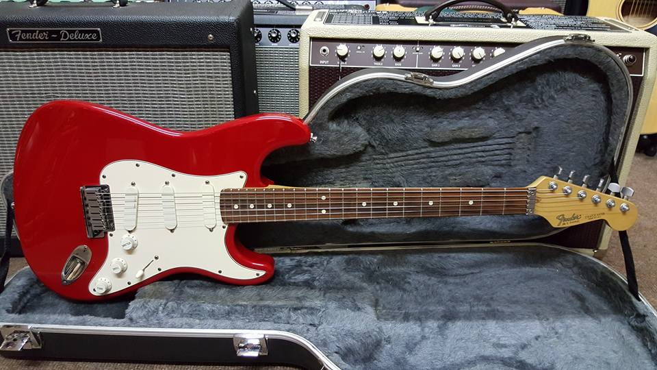 1989 Fender Strat Plus CAR