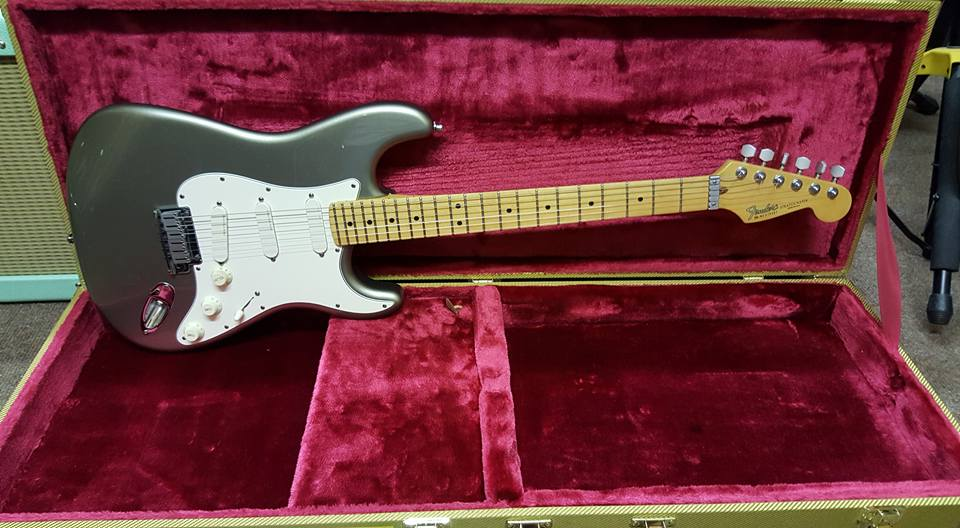 1991 Fender Strat Plus - Pewter