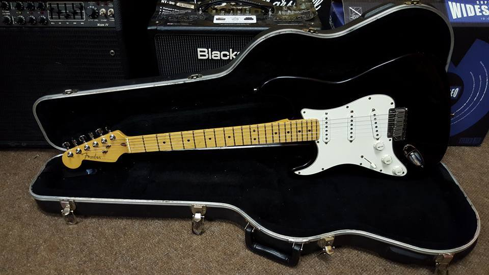 1995 Fender USA Stratocaster Left Handed