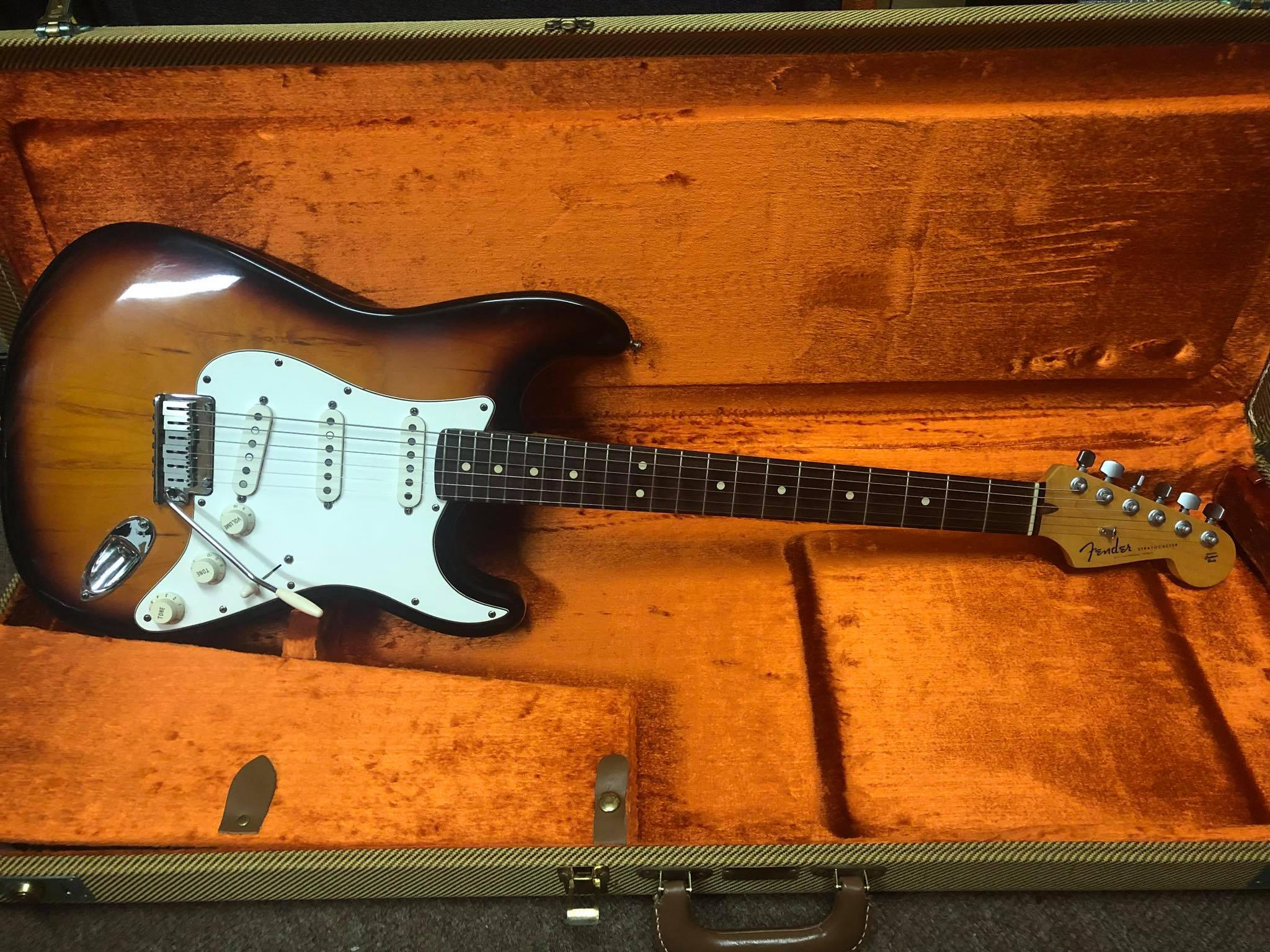2005 US Strat with Custom Shop Neck