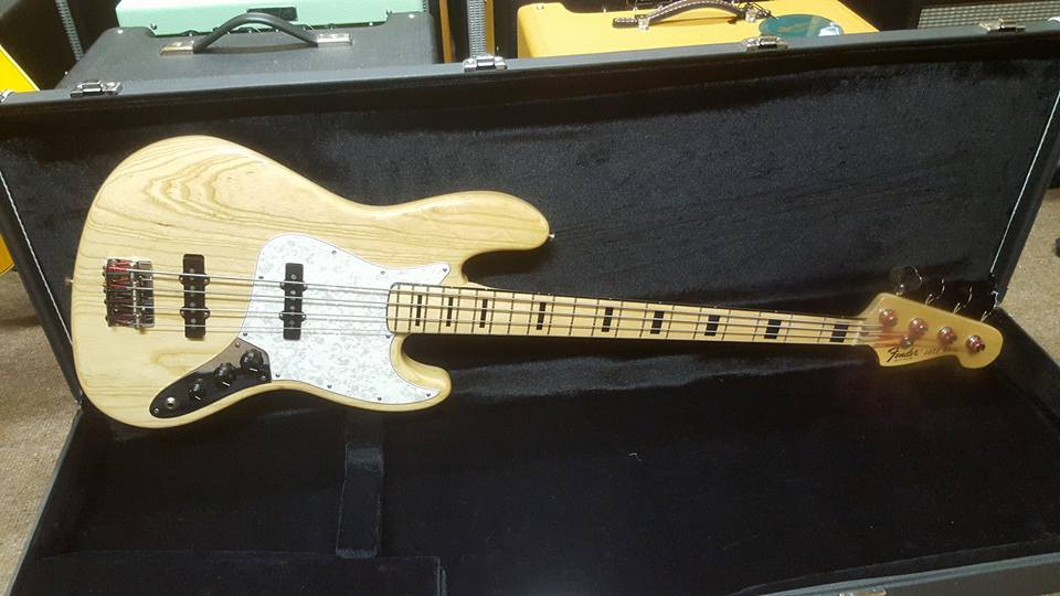 2007 Fender USA 75' Reissue Jazz Bass