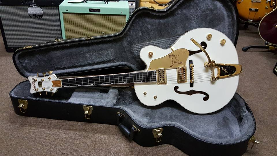 2011 Gretsch G6136T White Falcon