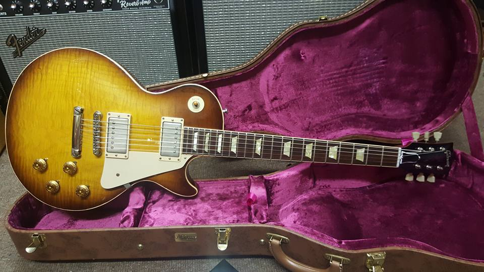 2012 Gibson Les Paul 59 Reissue Aged