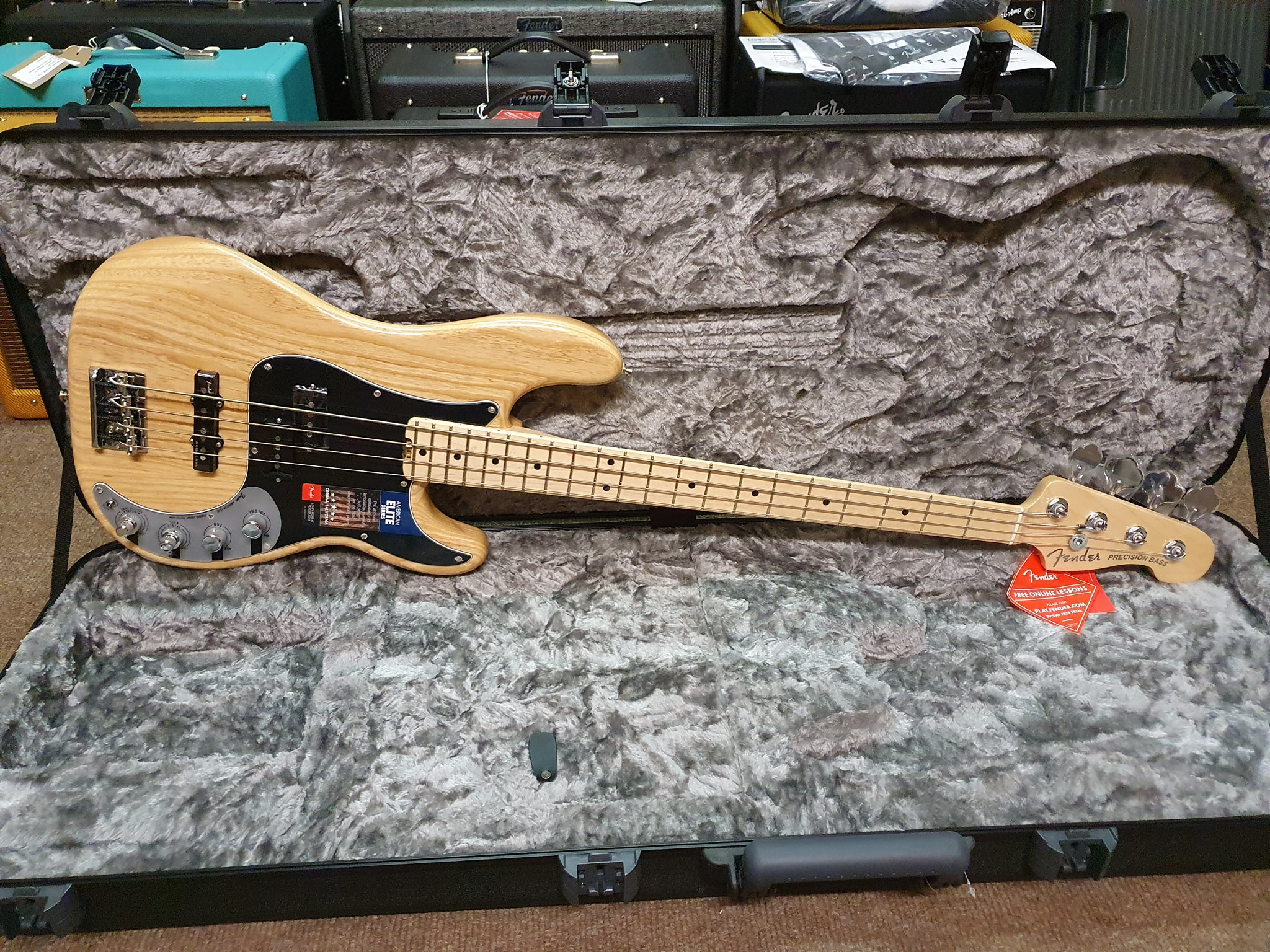 2018 Fender American Elite P Bass