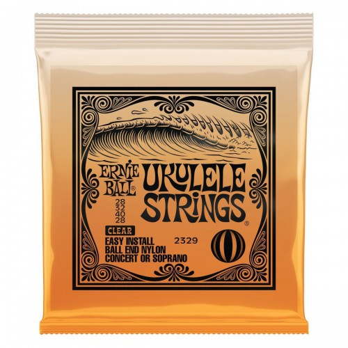 Ernie Ball Nylon Ukulele Strings -  2329 Ball-End