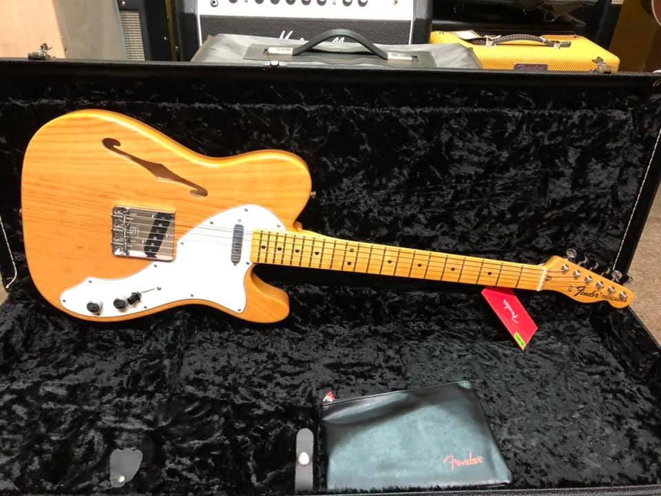 Fender American Original 60s Tele Thinline Aged Natural