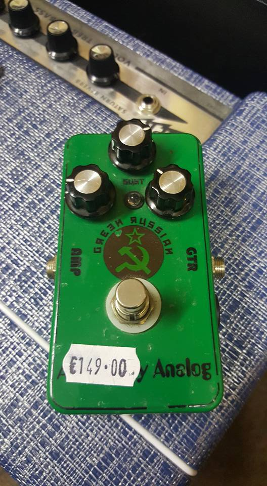 Absolutely Analog Green Russian