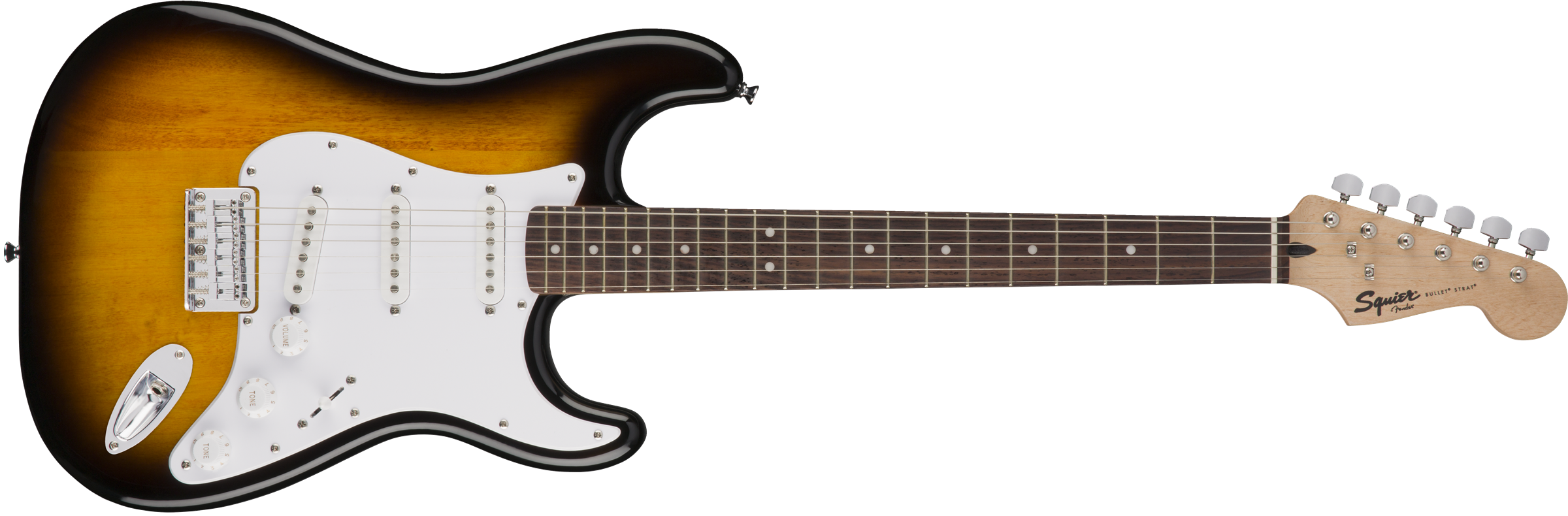 Fender Squier Bullet Strat HT Brown Sunburst