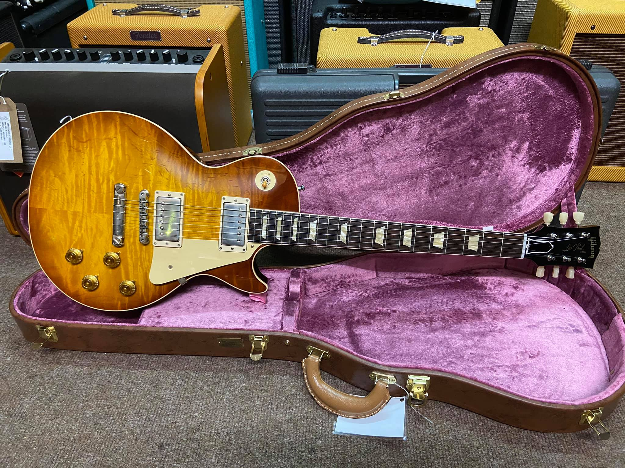 Gibson CS 60th Anniversary 59 Les Paul Std Royal Teaburst VOS