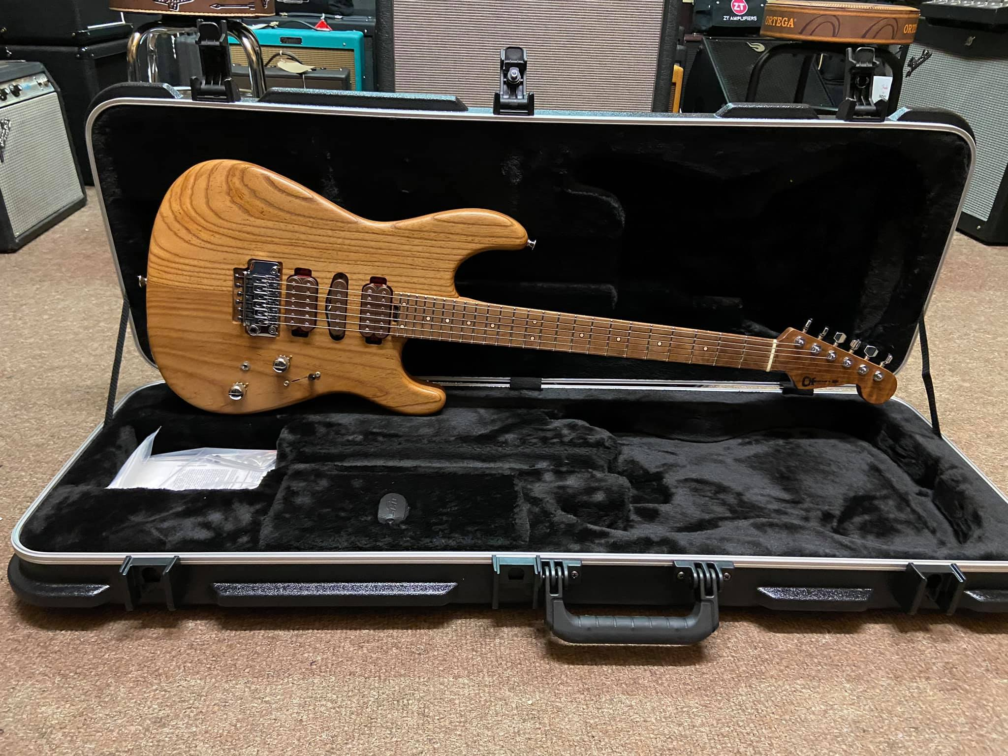 Charvel Guthrie Govan USA Signature HSH Cooked Ash