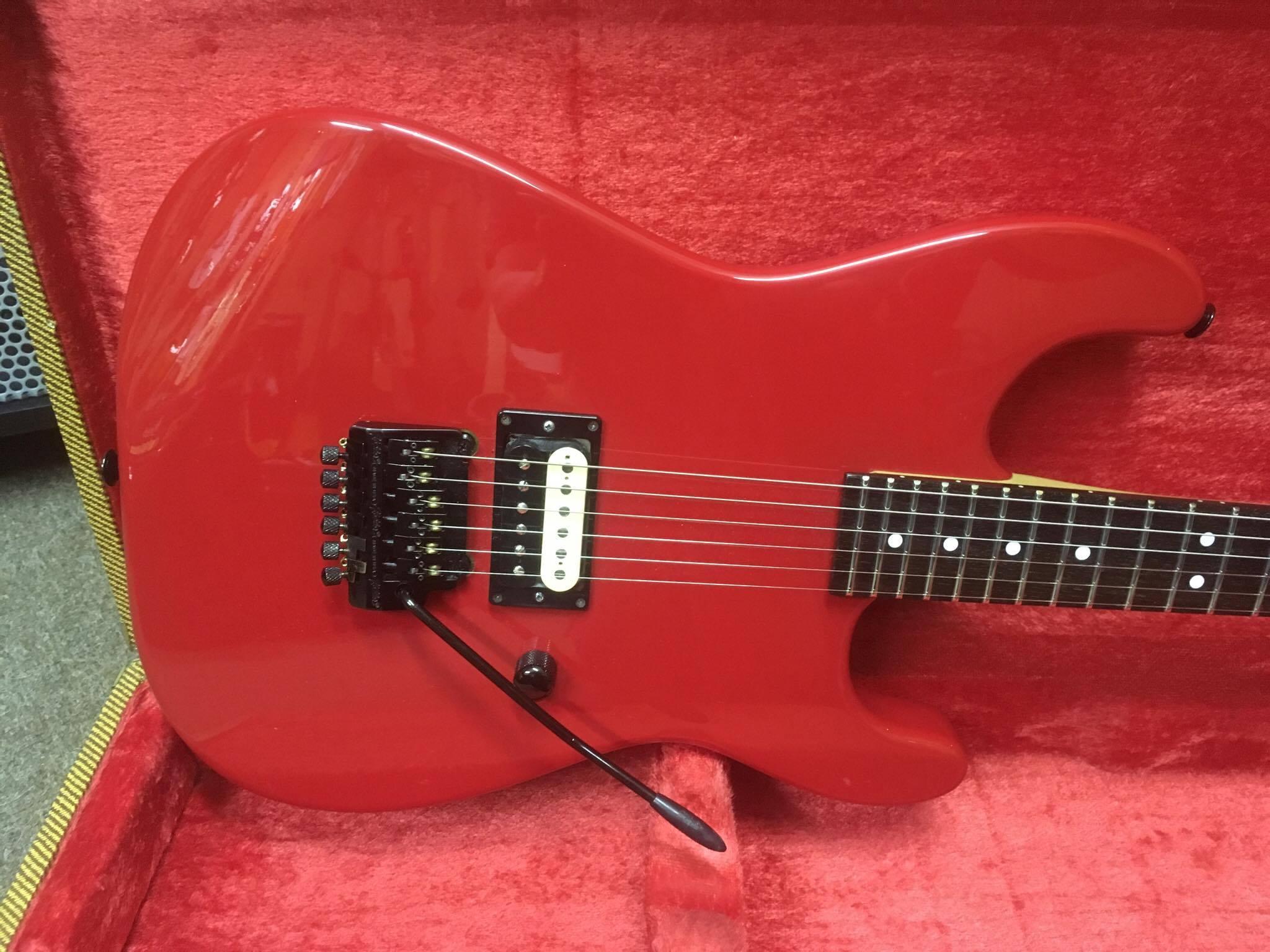 1986 Charvel Model 2 Red  Jimi U0026 39 S Music Store