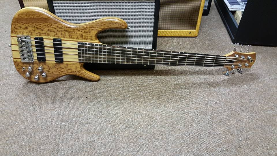 Custom Handmade 6 String Bass