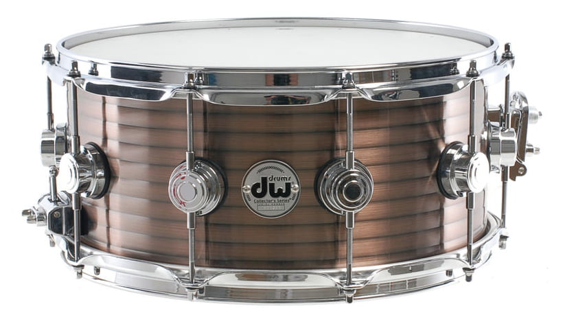 "DW 14"" x 6.5"" Vintage Copper Over Steel Snare Drum (pre-owned)"