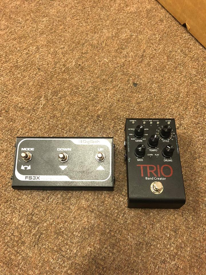 Digitech Trio Band Creator & FS3X