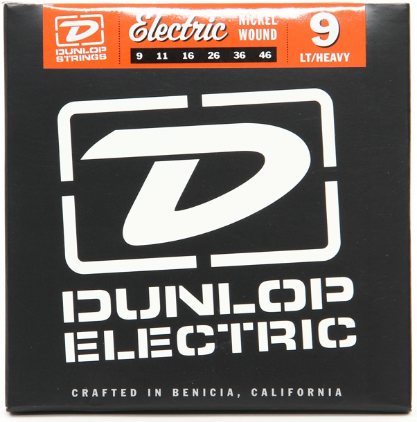 Dunlop Nickel Electric Guitar String Set | 09-46 Gauge