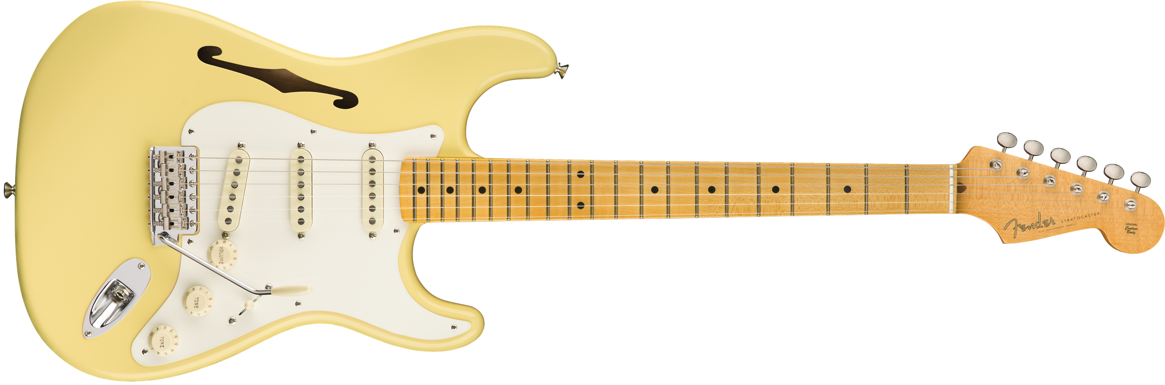 Fender Eric Johnson Thinline Strat VWT