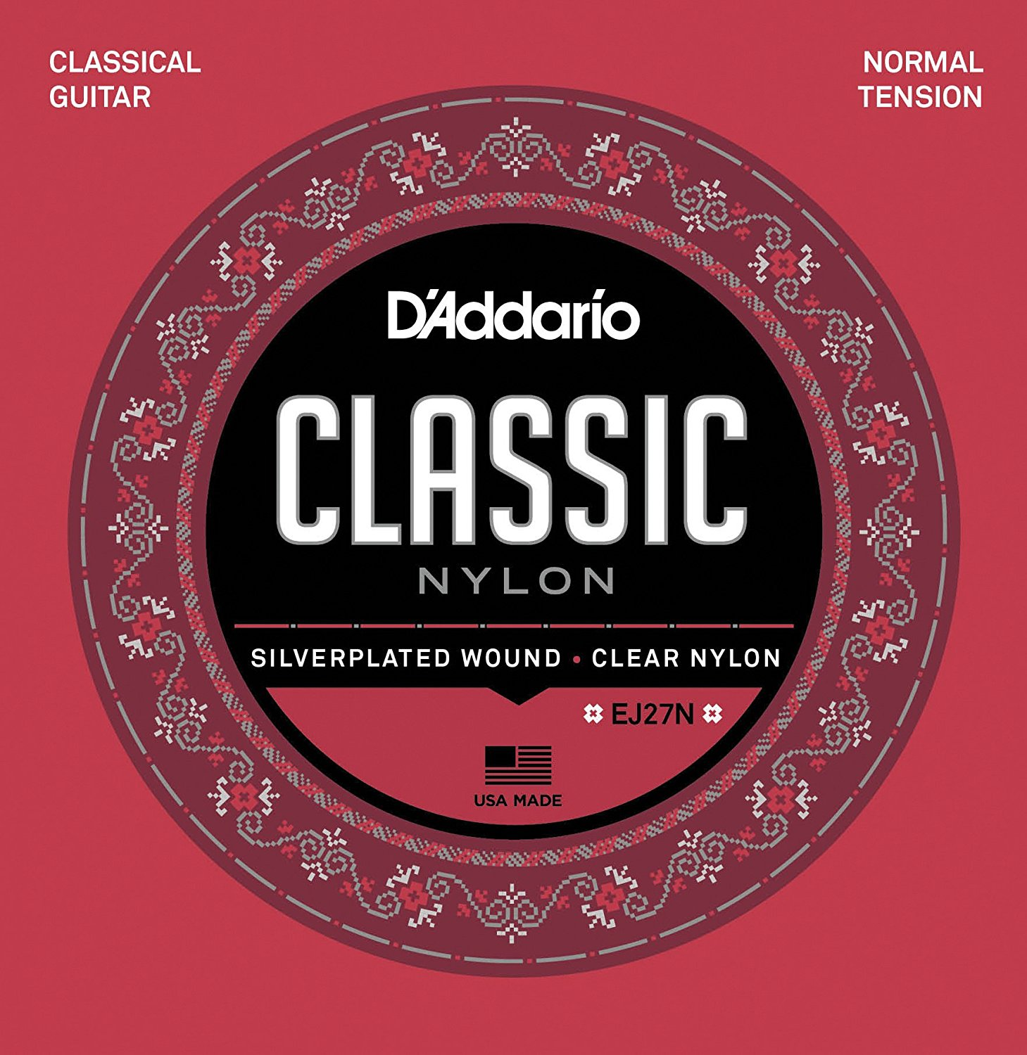 D'Addario Classical Nylon Strings EJ27N