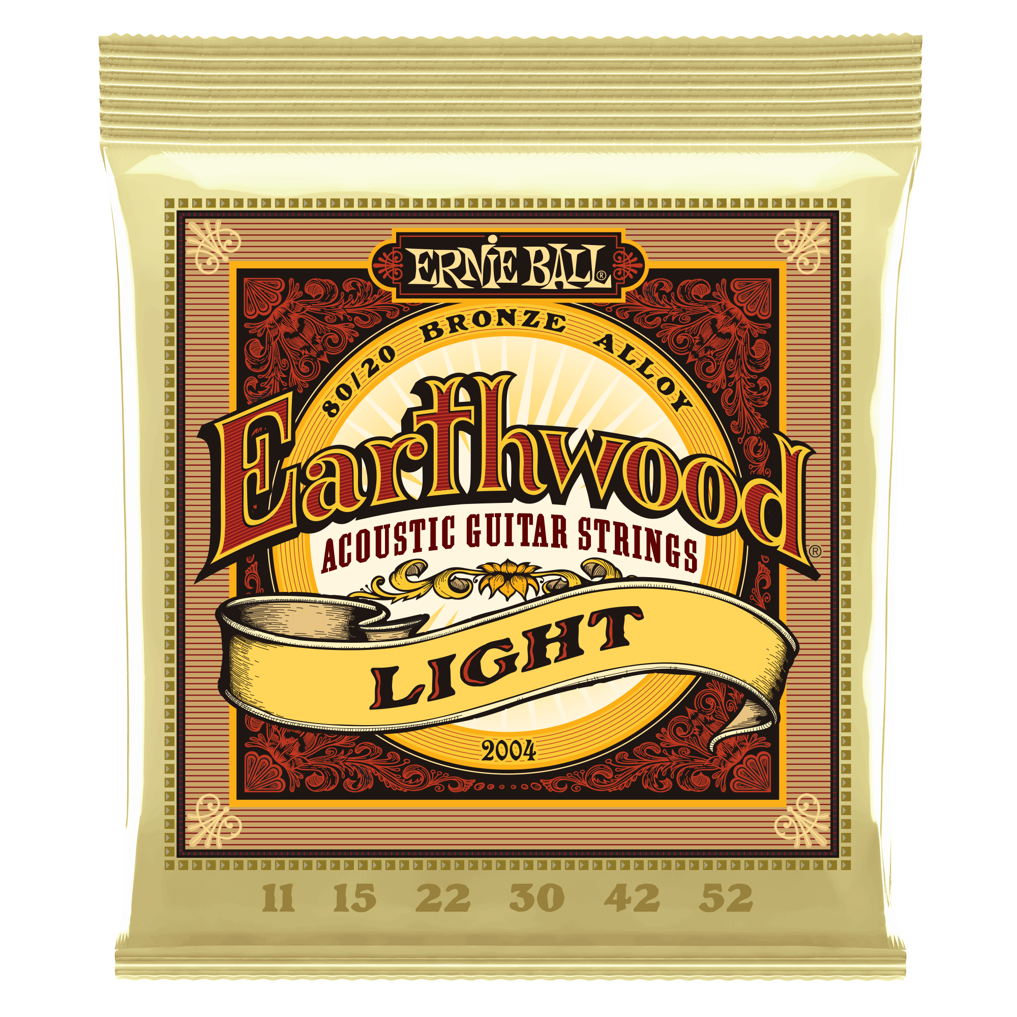 Ernie Ball Earthwood Bronze - Light 2004 11-52