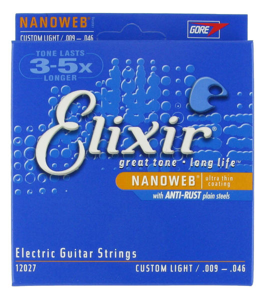 Elixir Nanoweb Custom-Light 9-46