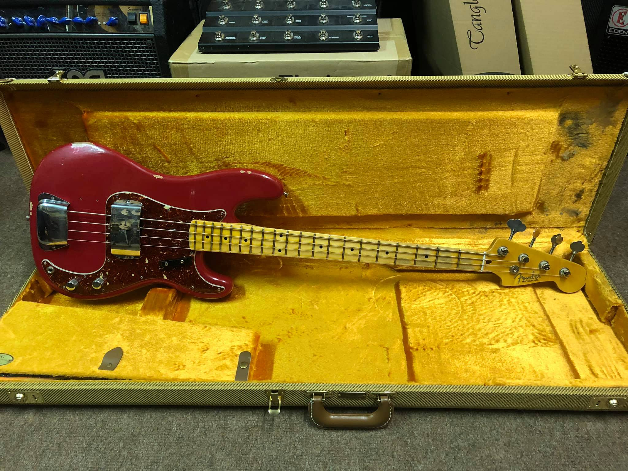 Fender 59 Relic Precision Bass