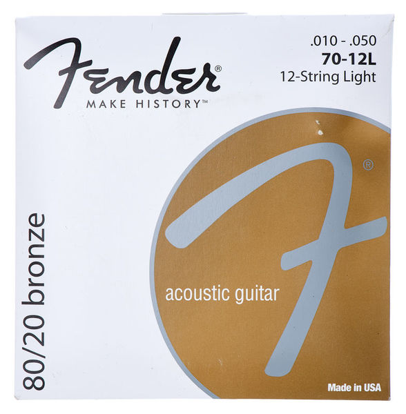 Fender 70-12L 12 String Set