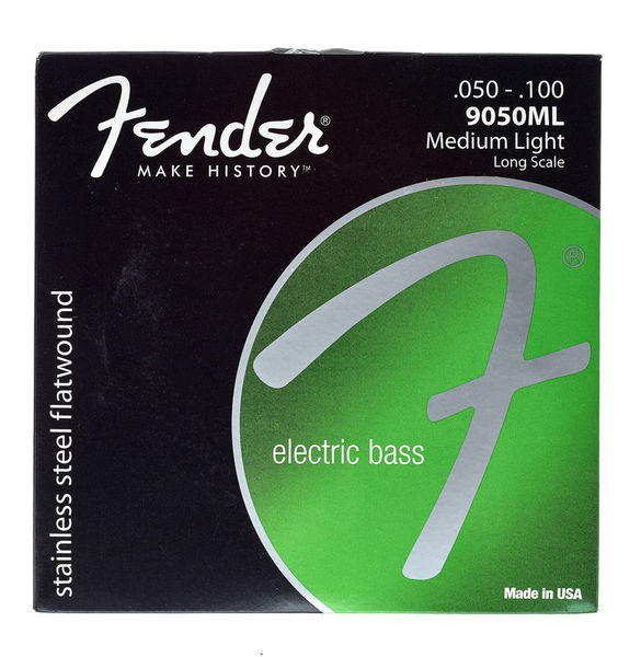 Fender 9050ML Flatwound Bass Strings 50-100