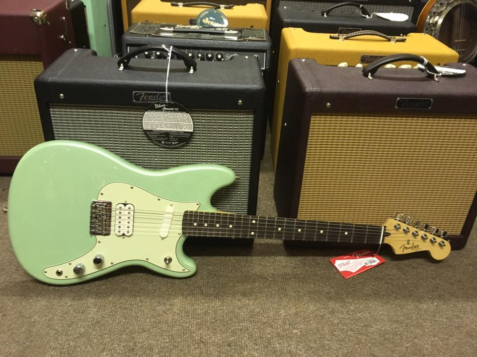 Fender Duo Sonic HS RW Surf Pearl