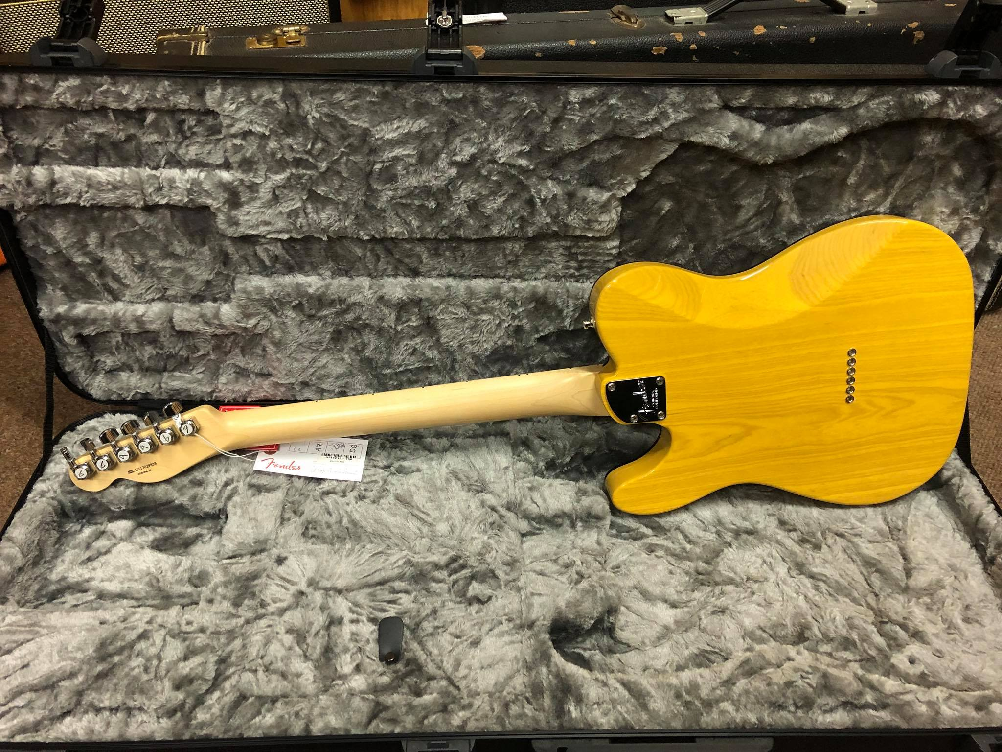 Fender Elite Telecaster MN Butterscotch Bonde Jimi s Music Store
