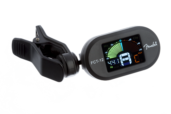 Fender FCT-12 Chromatic Clip-On Tuner