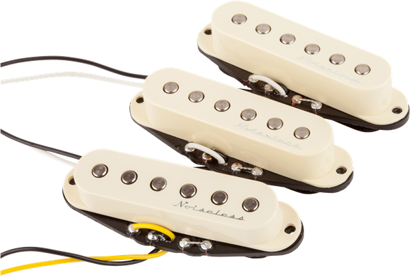 Fender Hot Noiseless Strat Pickup Set  Jimi U0026 39 S Music Store