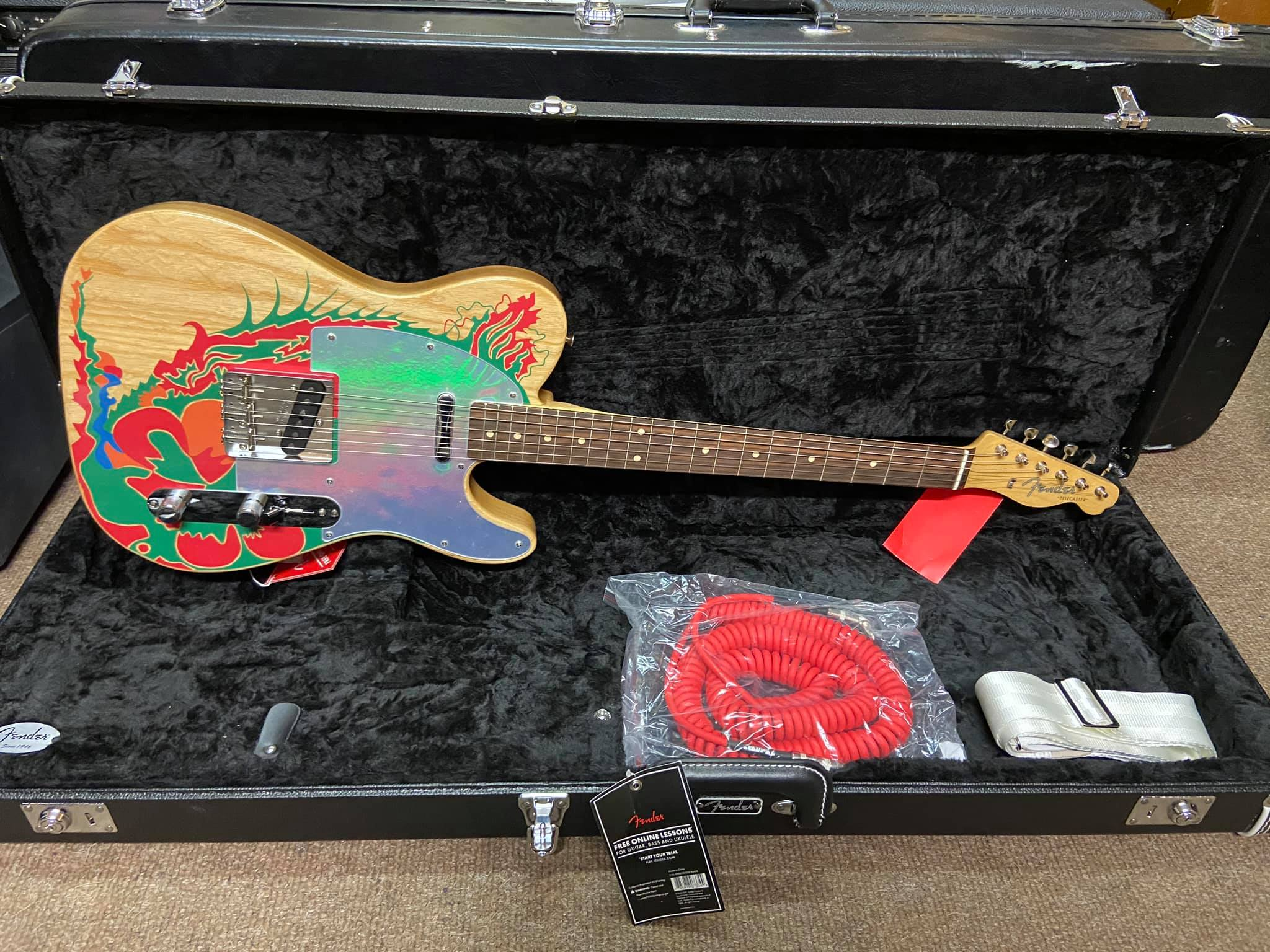 Fender Jimmy Page Signature Tele