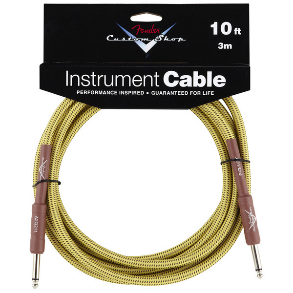 Fender Custom Shop Cable Tweed 3m/10'