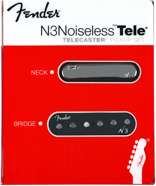 Fender N3 Noiseless Tele Pickup Set  Jimi U0026 39 S Music Store