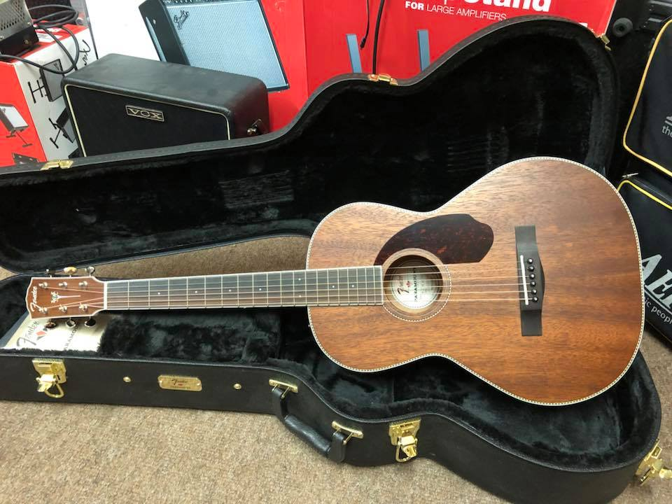 Fender Paramount PM-2 All Mahogany