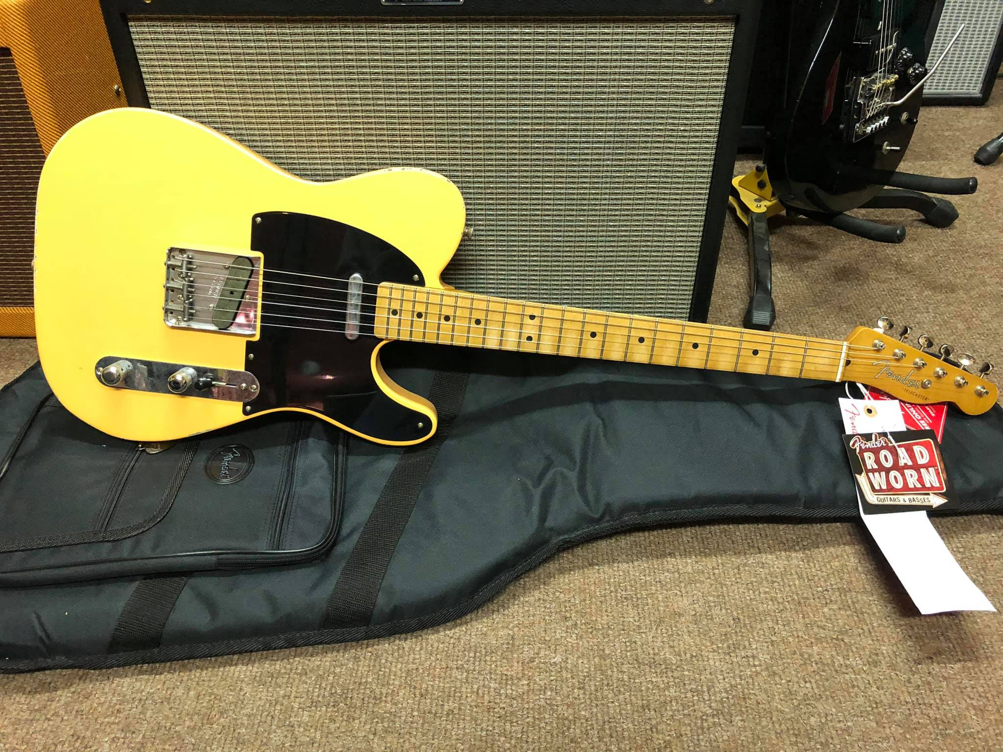 Fender Road Worn 50s Tele - Blonde