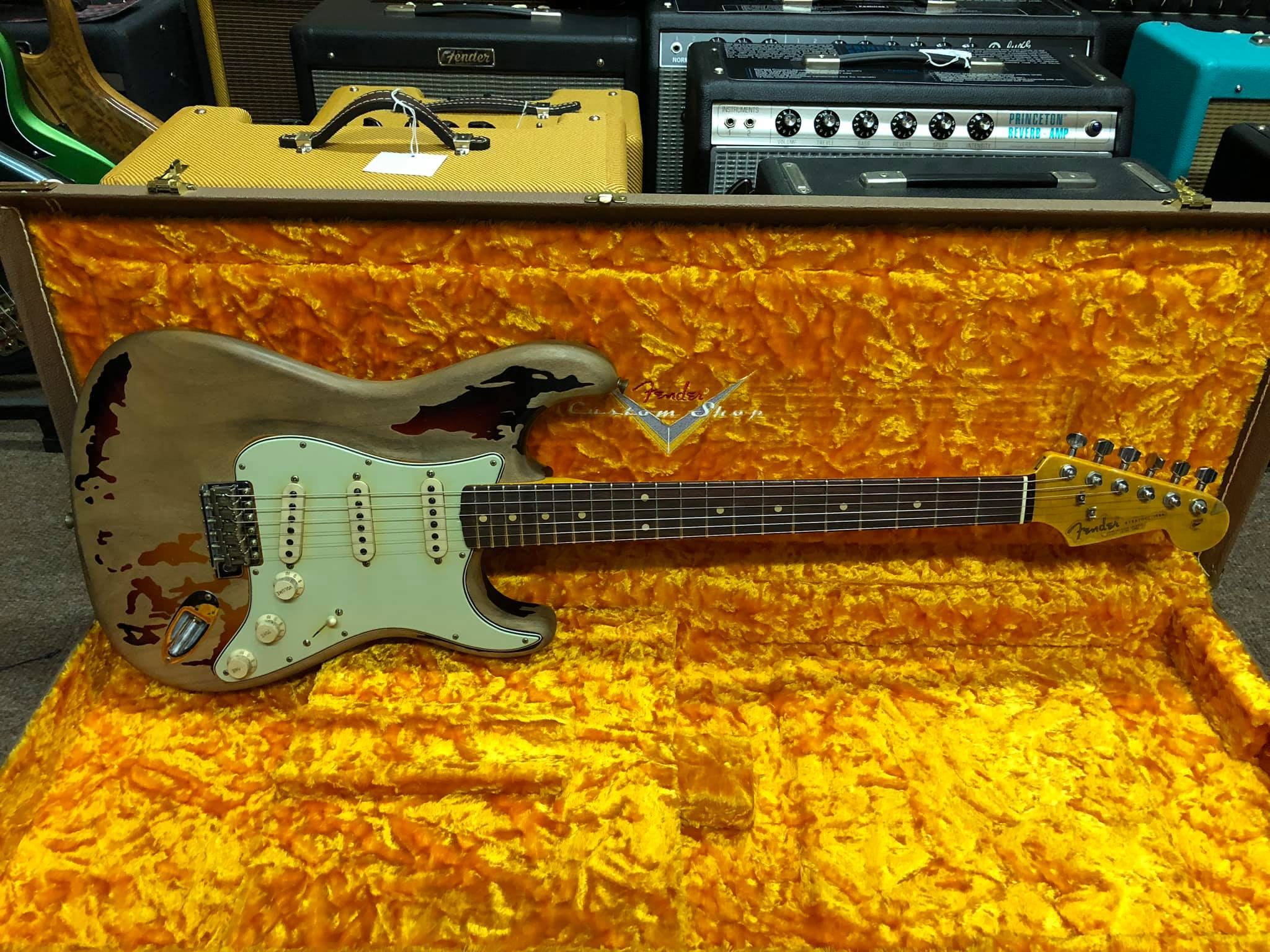 Rory Gallagher Signature Strat Relic