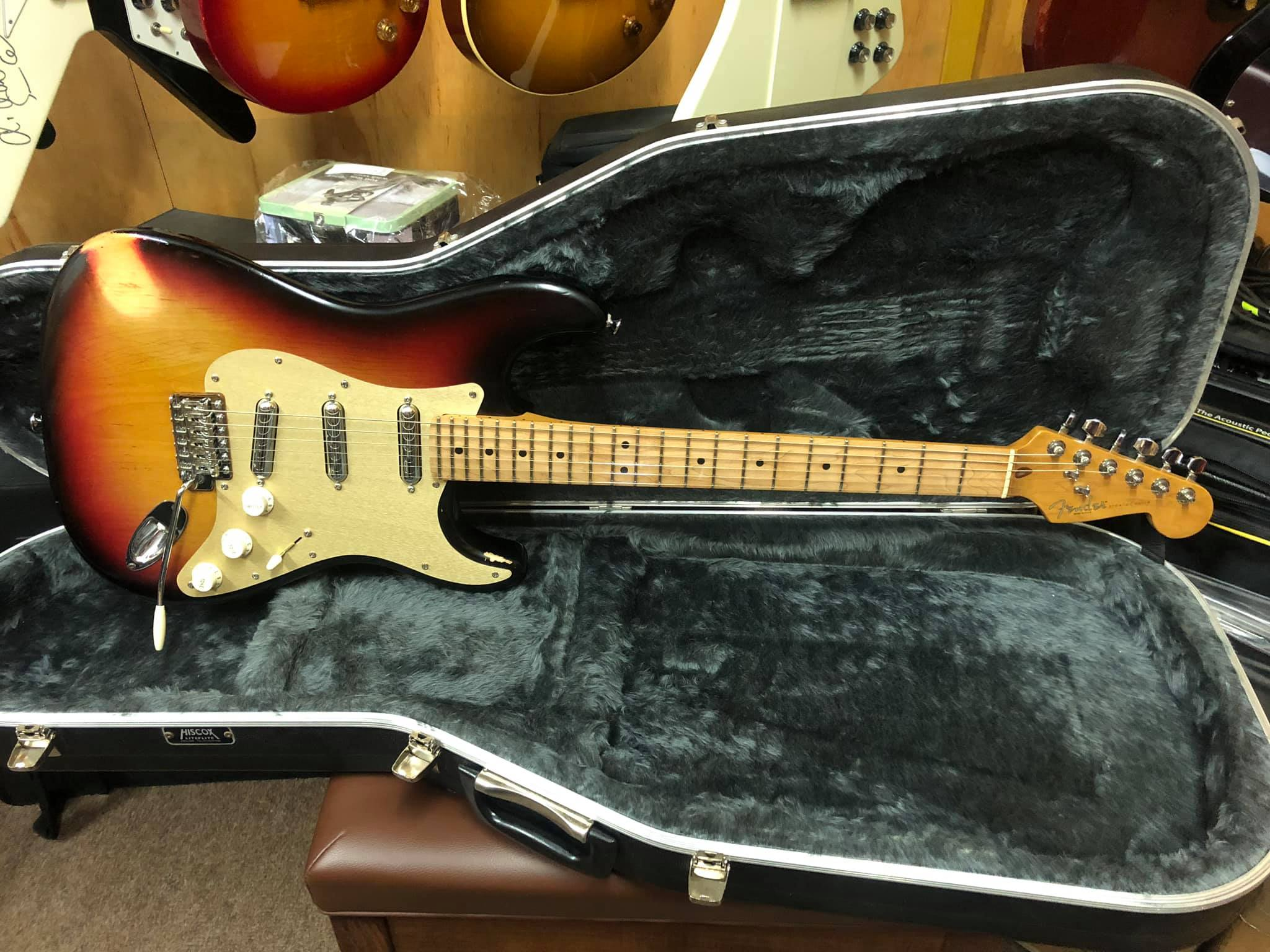 Fender US Strat with Seymour Duncan Lipstick Pick ups