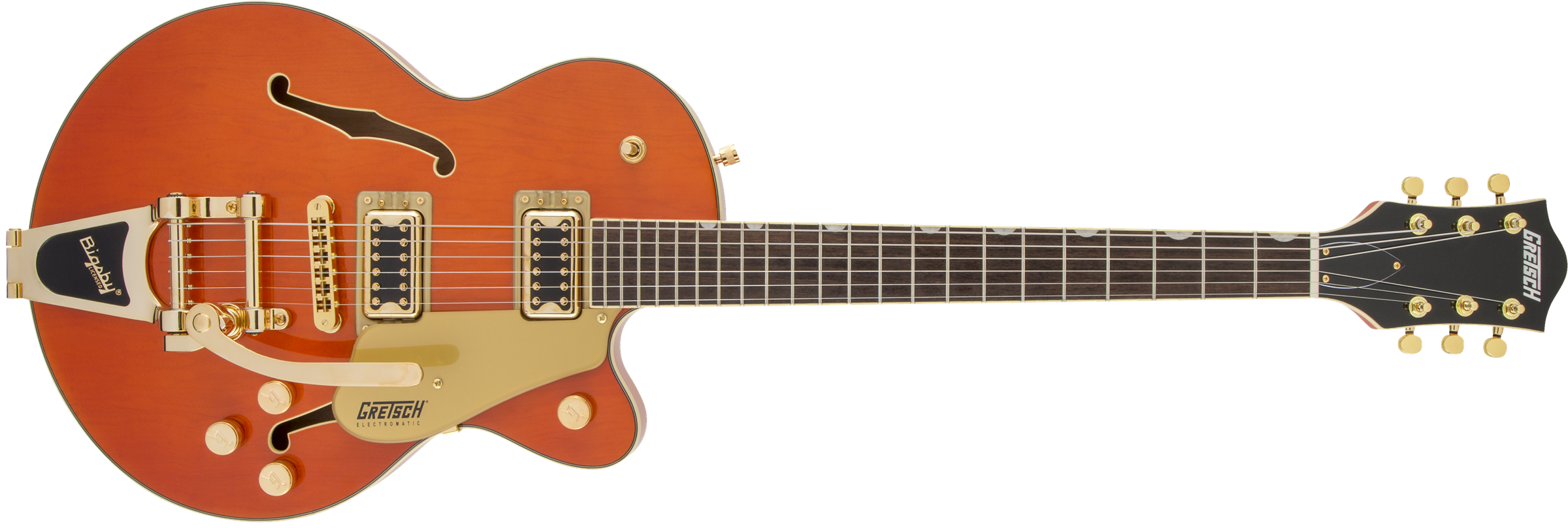Gretsch G5655TG Electromatic - Orange Stain