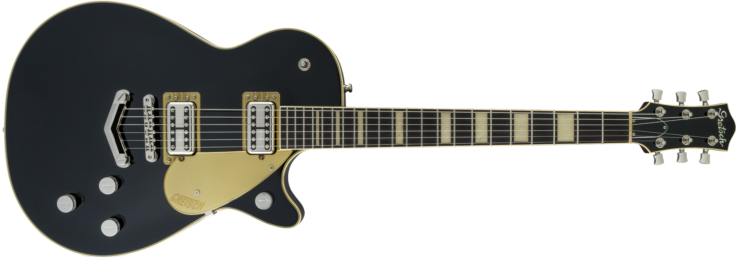 Gretsch G6228 Players Edition Jet BT with V-Stoptail - Black