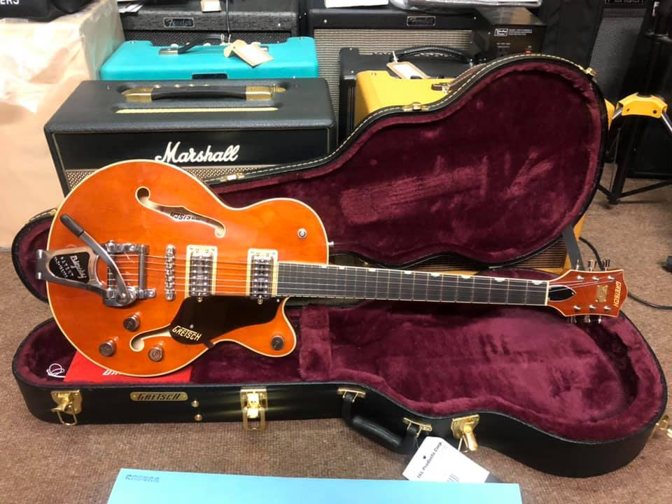 Gretsch G6659T PE Broadkaster Jr - Roundup Orange