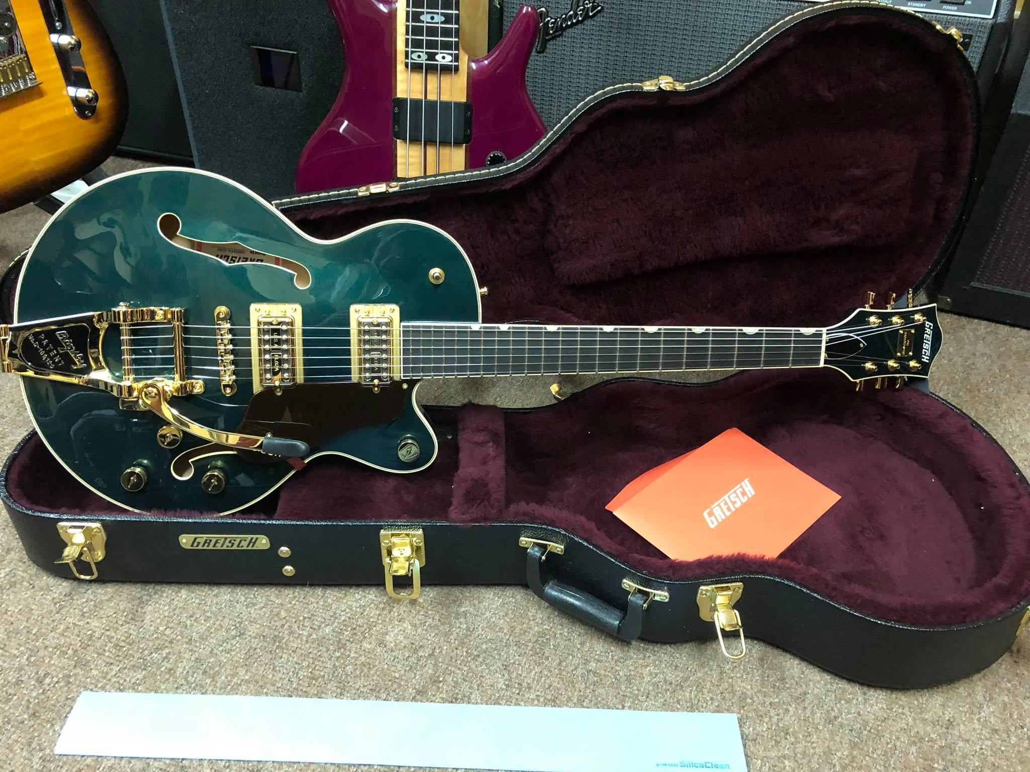 "Gretsch G6659TG-CDG PE ""The Broadkaster"" Jr"