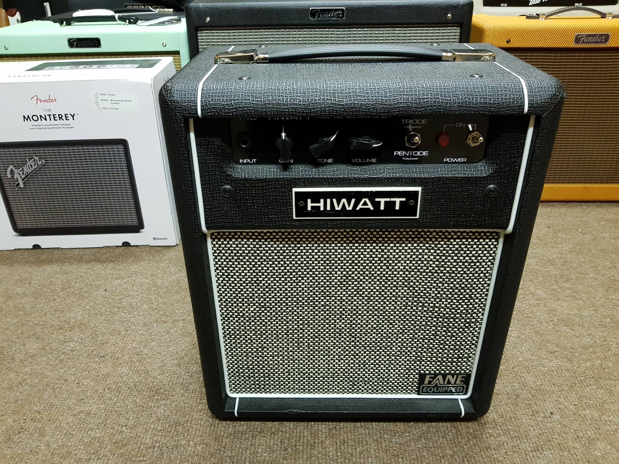 Hiwatt T10 Tube Series