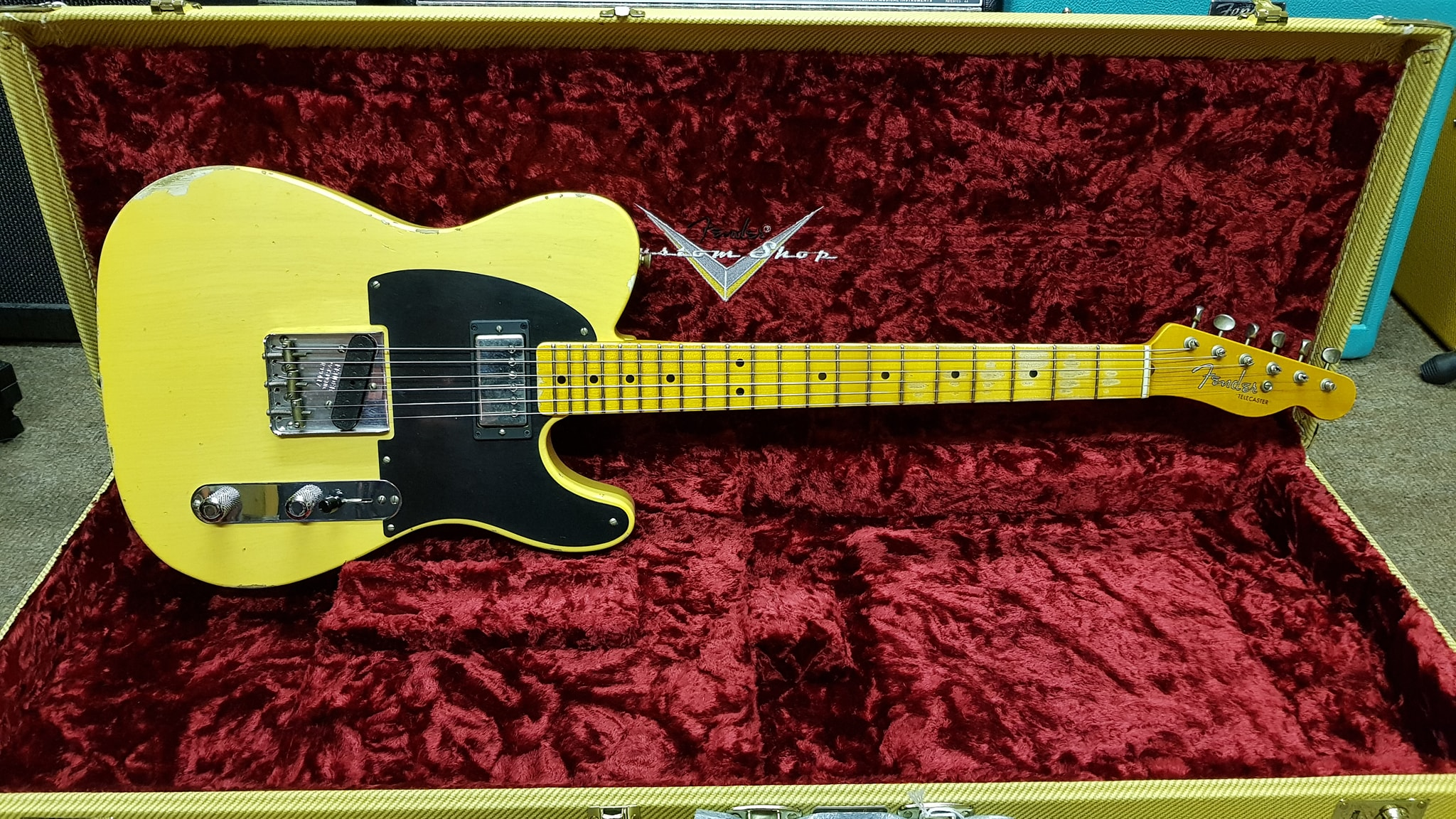 Fender Ltd 51 HS Telecaster Relic Blonde