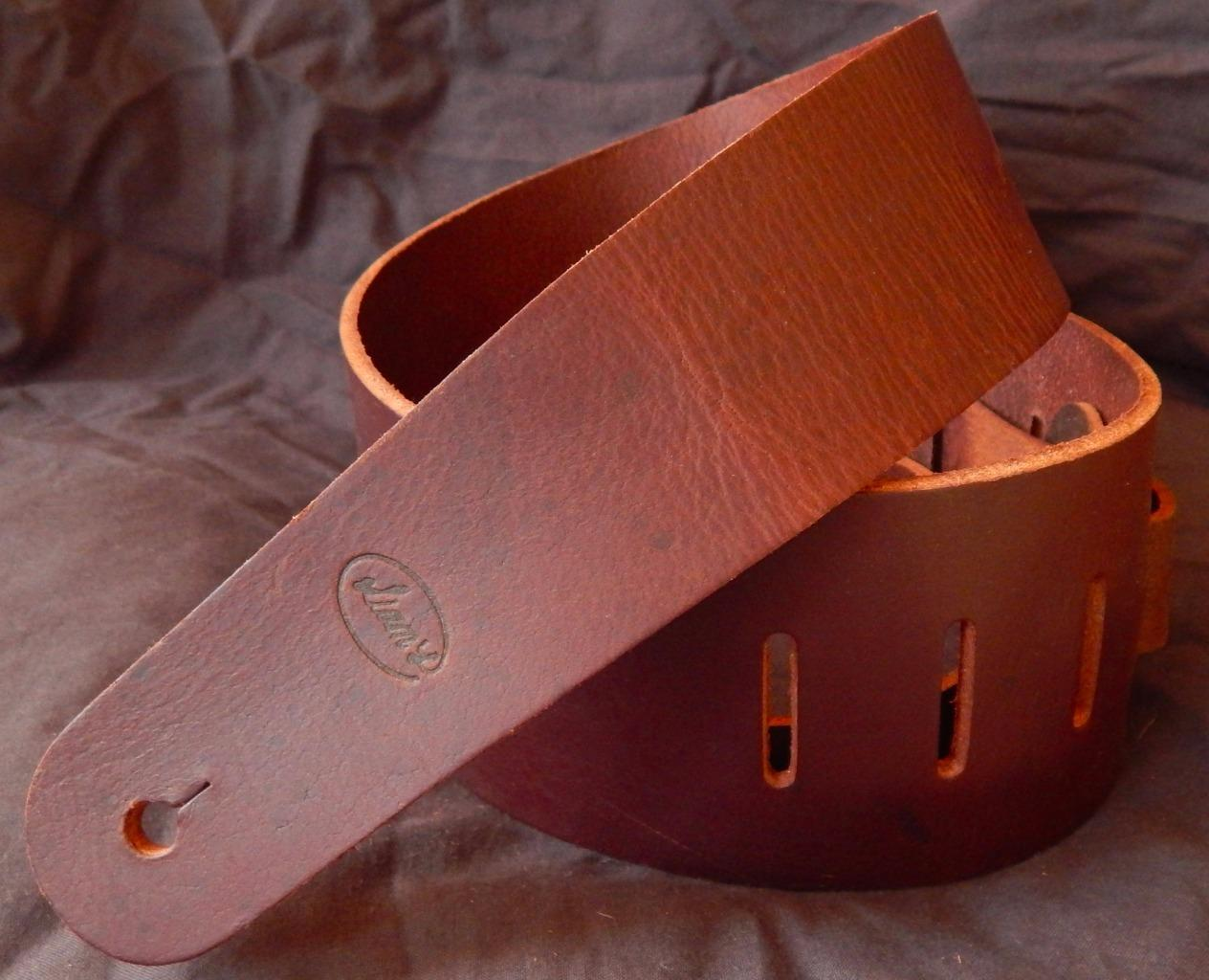 Liam's Genuine Leather Guitar Strap